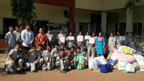Schools contributed for Chennai Sahayata Campaign
