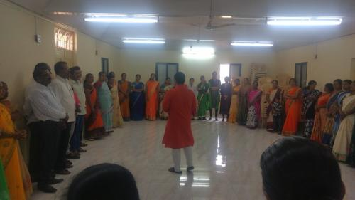 Training of Trainers of Zilla Parishad Teachers on Gender, Sexuality and Menstrual Hygiene.
