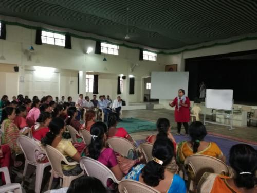 Zilla Parishad Teachers Training of Trainer workshop on Menstrual Hygiene and Reproductive Rights 2